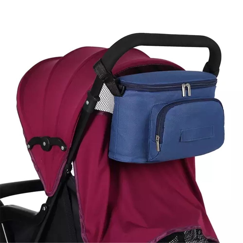 Baby Stroller Bag Mummy Organizer Bag Nappy Diaper Bags Carriage Buggy Pram Cart Basket Hook Stroller Accessories