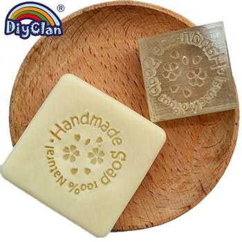 Żywica akrylowa wyczyść rozdział 100 naturalne mydło wyrabiane ręcznie znaczki do scrapbookingu DIY wosk Seal biurowe pomoc dydaktyczna grawerowanie tanie i dobre opinie Diyclan CN (pochodzenie) Z0084HM Other