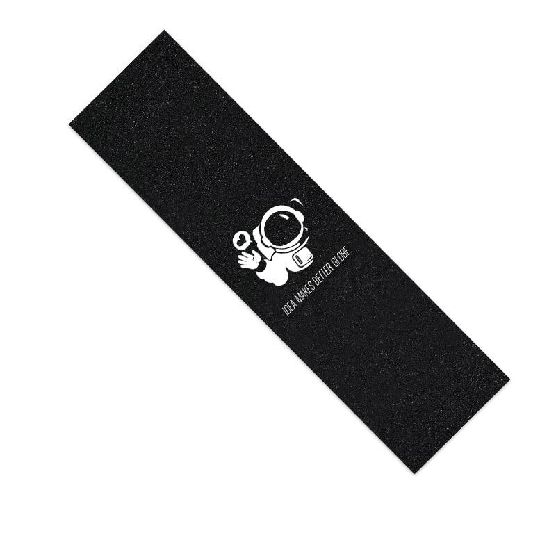 Papier de verre pour planche à roulettes,autocollant, double bascule au vaporisateur numérique Emery, bande adhésive, trottinette, 6