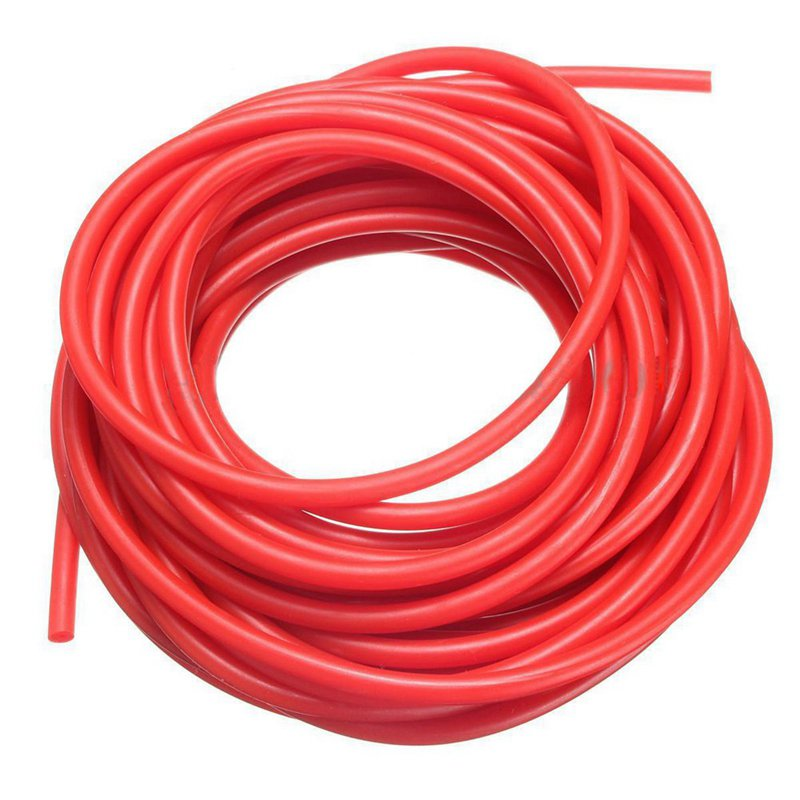 32 Feet 5mm Natural Latex Rubber Tube Tubing Replacement Band Surgical 10M