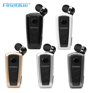 Original Fineblue F910 Wireless Bluetooth V4.0 Headset In-Ear Vibrating Alert Wear Clip Hands Free Earphone For Smartphones NEW