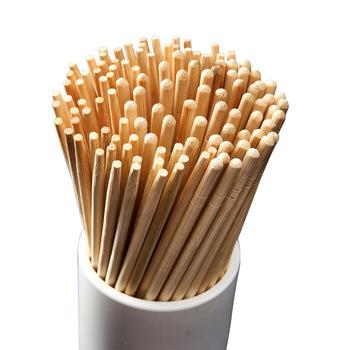 Visual Touch 100Pairs chiński jednorazowe bambusowe pałeczki do drewna restauracja pojedynczy pakiet Hashi Sushi Food Stick zastawa stołowa tanie i dobre opinie CN (pochodzenie)