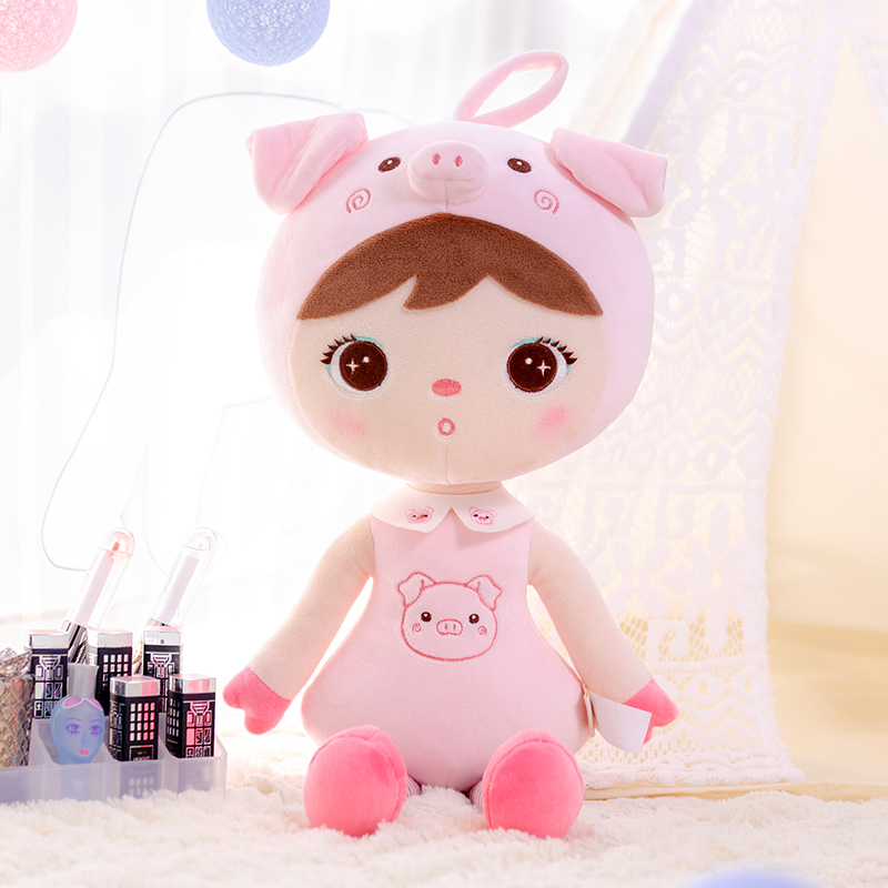 Plush Toys MeToo X Gloveleya New Design  Dolls Cute Pig For Children Toy Birthday Christmas Gifts Kids Baby Doll