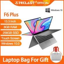 Notebook Battery Laptop F6 Plus Teclast Windows 10 Full-Hd Rotation 8GB OS 256GB 38000mwh
