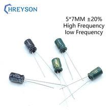 Electrolytic-Capacitor-Kit Assorted-Set 100UF 47UF 220UF Aluminum 20pcs 10V 25V 35V 16V