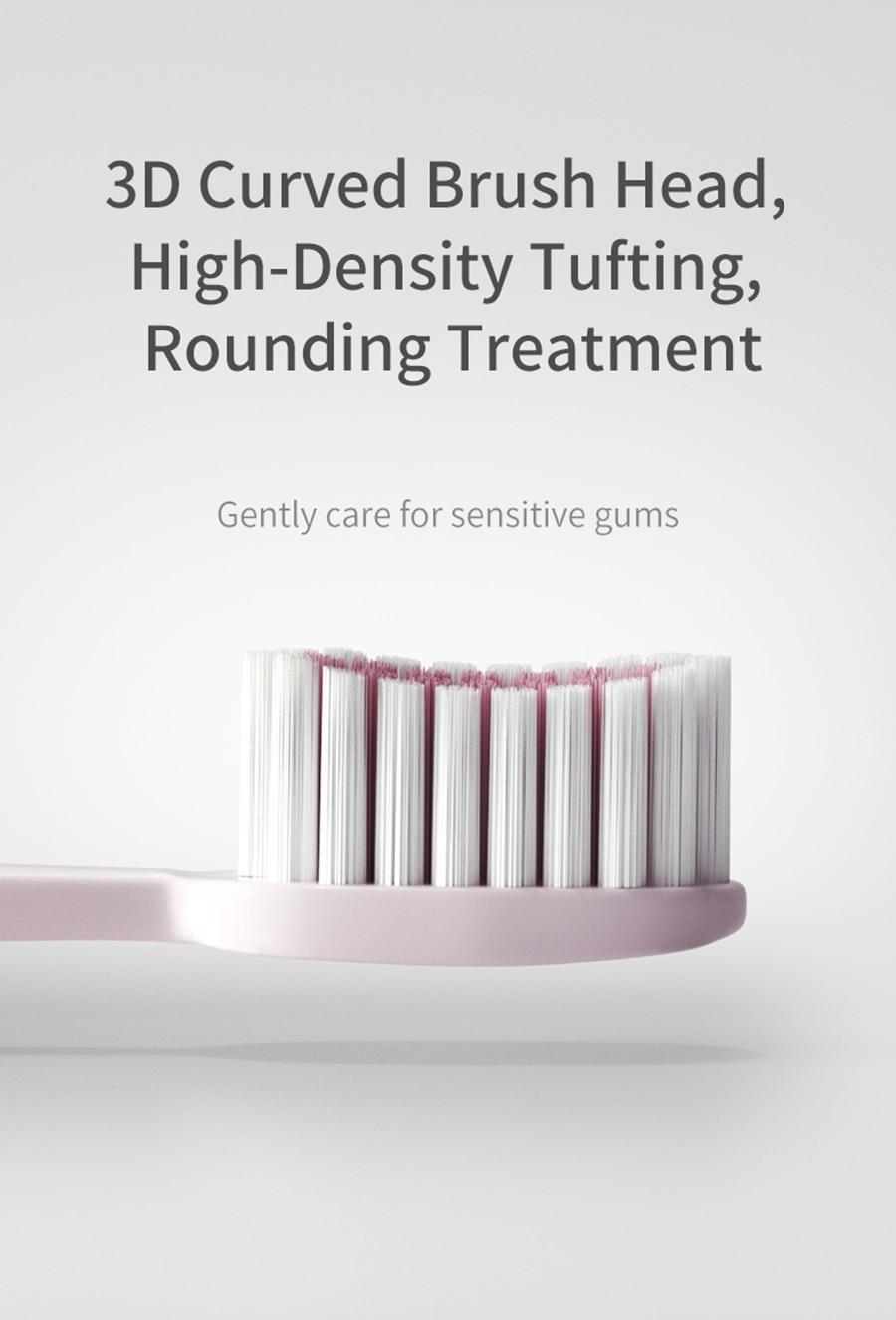Mijia usb recarregável escova de dentes elétrica