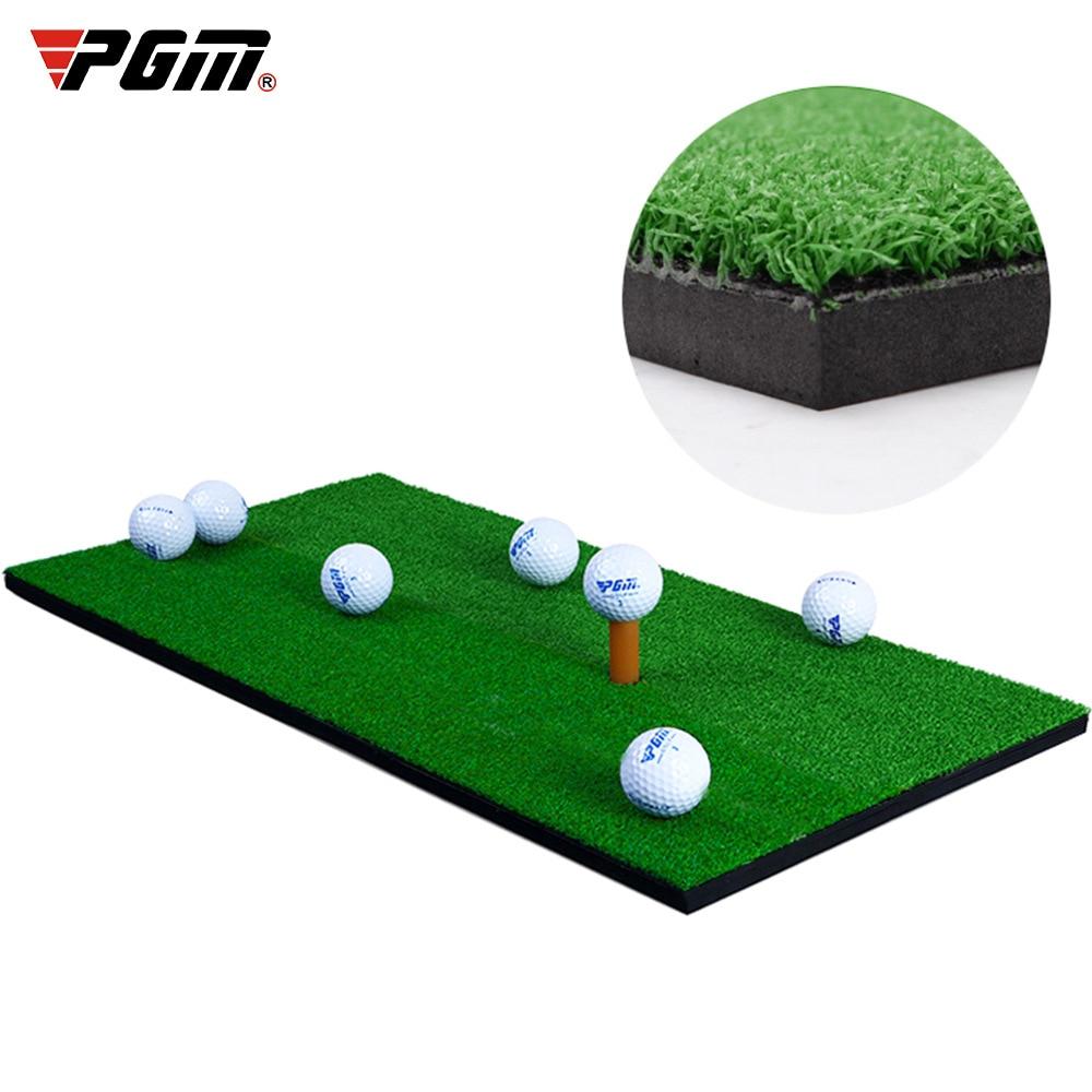 2020 Indoor Golf Training Aids Golf Mat Training Hitting Pad Practice Rubber Grass Mat Green Golf Training Tool Backyard 30x60cm