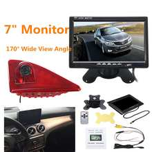 Brake-Light Master Rear-View Monitor Display Reverse-Camera-Set Universal Waterproof