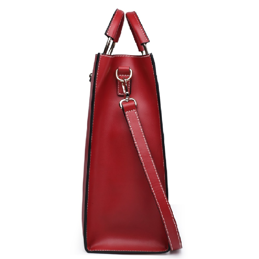 Brand Women Fashion Genuine Leather bags Designer High Quality Cow Leather Handbag Shoulder Bag Female Shopping Tote Bag#6988