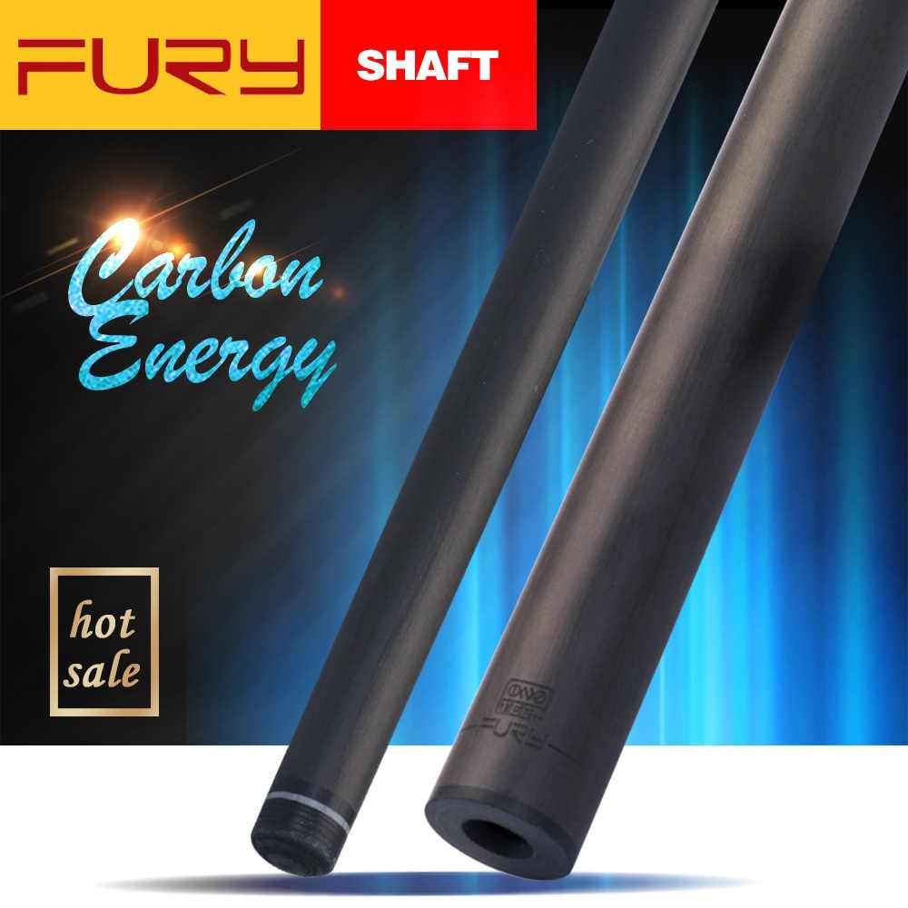 Fury kij bilardowy czarny technologia wał cios Cue wał profesjonalny wał z włókna węglowego gorąca sprzedaż Tecnologia Billar wał