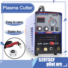 3 In 1 Multifunction Welding Machine Air Inverter Plasma Cutter TIG MMA CUT Pilot Arc Plasma Cutter 520TSCF for Welding