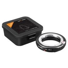 Nuovo K & F Concetto adattatore per Leica M mount lens per Nikon Z montaggio Z6 Z7 Z50 macchina fotografica di trasporto trasporto libero