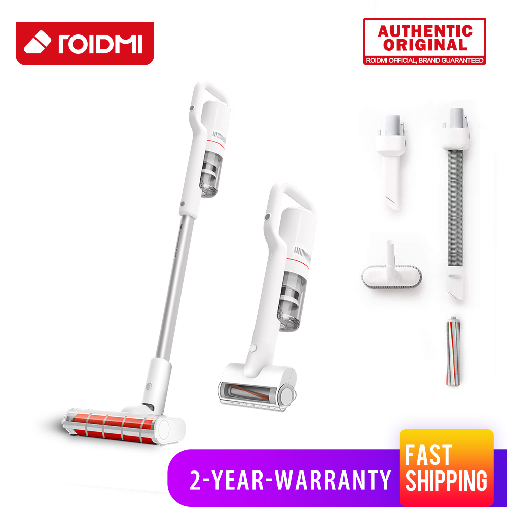 Vacuum Cleaner Home Brush Roidmi Classic Original 6 In 1 Hour Acarid-killing Hepa Cordless Wireless F8