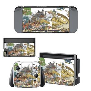 Image 1 - Autocollants de peau de commutateur de Nintendo danime de Studio Ghibli peaux dautocollants de NintendoSwitch pour la Console de commutateur de nintention et le contrôleur de Joy Con