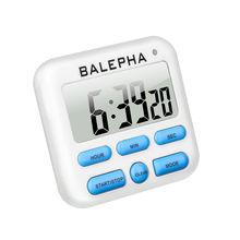 Цифровой кухонный кулинарный яичный кабинет, таймер для душа, магнитный большой ЖК-дисплей, Громкий будильник, подсчет, настольные часы, Набор цифр, электрон