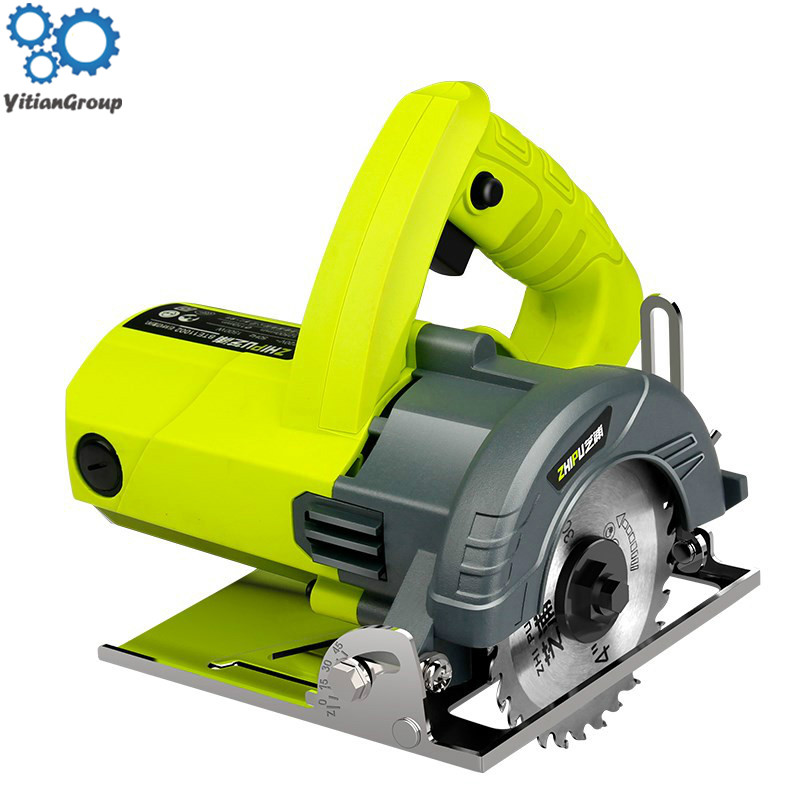 Z1E-TF-110 Cutting Machine Multi-function Handheld, 45 Degree Tile Toothless Chainsaw Metal Tile Cutting Machine