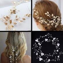 Accesorios para el cabello de boda, diadema tejida a mano con perlas de cristal, diadema para mujer y niña, diadema, diadema nupcial, joyería