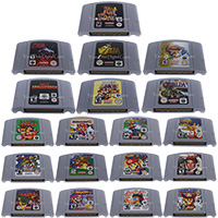 64 Bits Video Game Cartridge Games Console Card EU PAL Version For Nintendo image