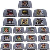 64 Bits Video Game Cartridge Games Console Card EU PAL Version For Nintendo