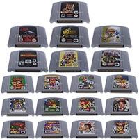 64ビットビデオゲームカートリッジゲームコンソールカードeu palバージョン任天堂