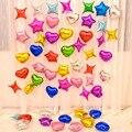 10 шт./лот 10 дюймовые воздушные шары из фольги в форме сердца с пятиконечной звездой гелиевые глобусы для дня рождения, вечеринки, свадьбы дет...