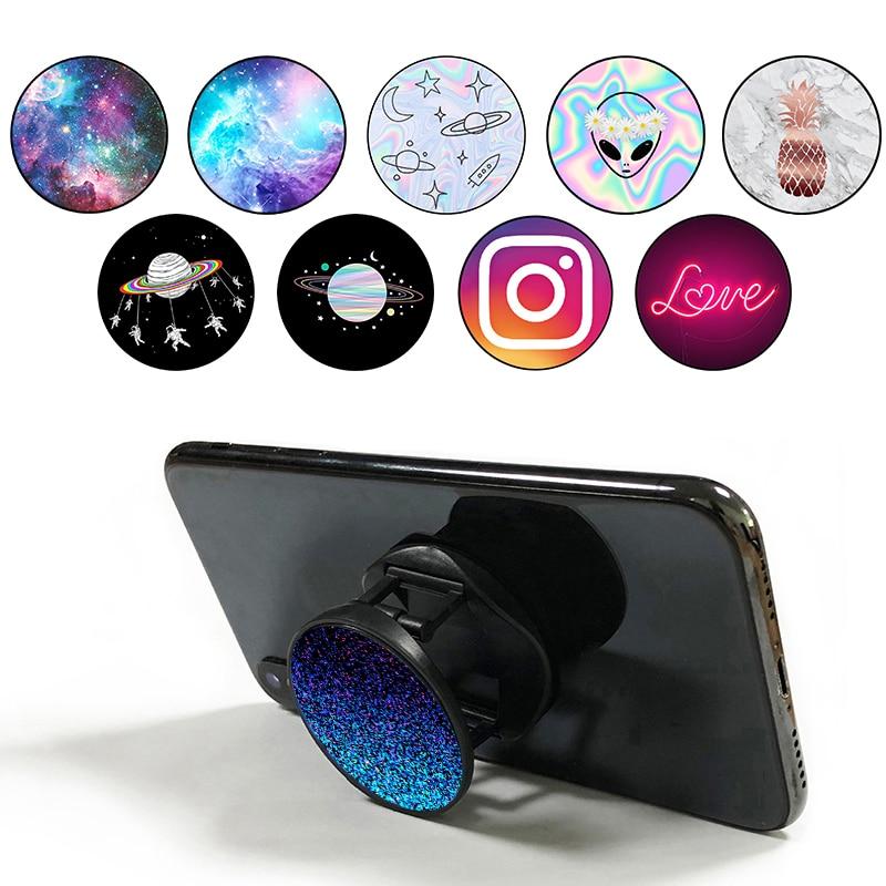 Popsocet Попсокеты Mobile Phone Holder Telefon Tutucu Finger Ring Popsoket Bracket Pops Expanding Stand And Grip Pocket Socket