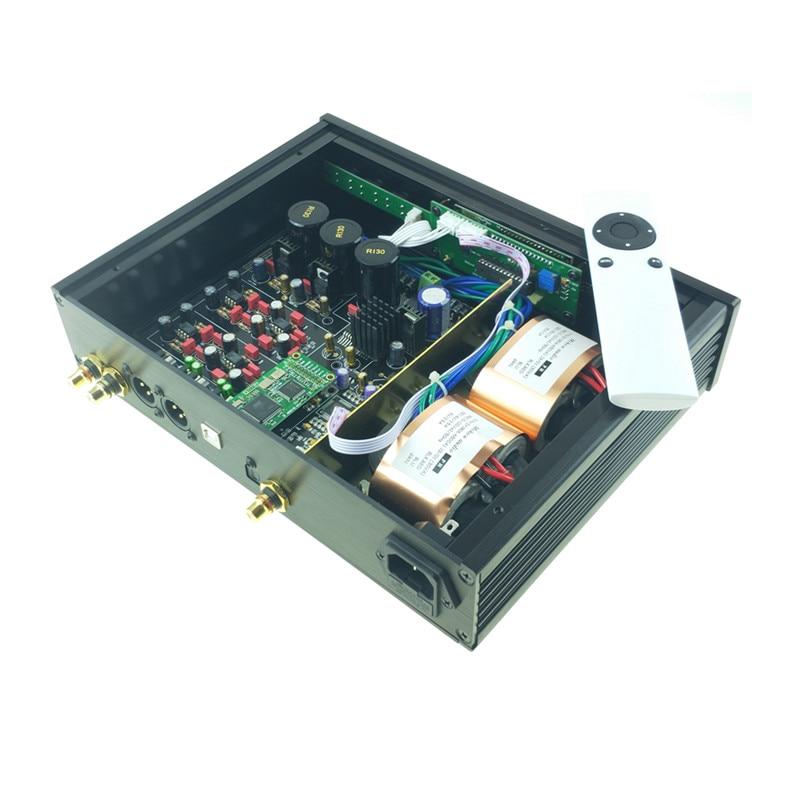 Image 5 - 2019 ES9038 ES9038PRO USB DAC DSD decodificador digital a convertidor de Audio analógico de alta fidelidad DAC de Audio Amanero o XMOS XU208 para ampAmplificador   -
