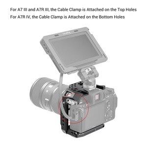 """Image 5 - SmallRig חצי כלוב עבור Sony A7 III A7R III A7R IV Dslr מצלמה כלוב עם נאט""""ו רכבת/קר נעל וידאו ירי כלוב ערכת 2629"""