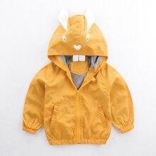 Children\'s Clothing Hooded Jackets For Baby Boys Coat Rabbi