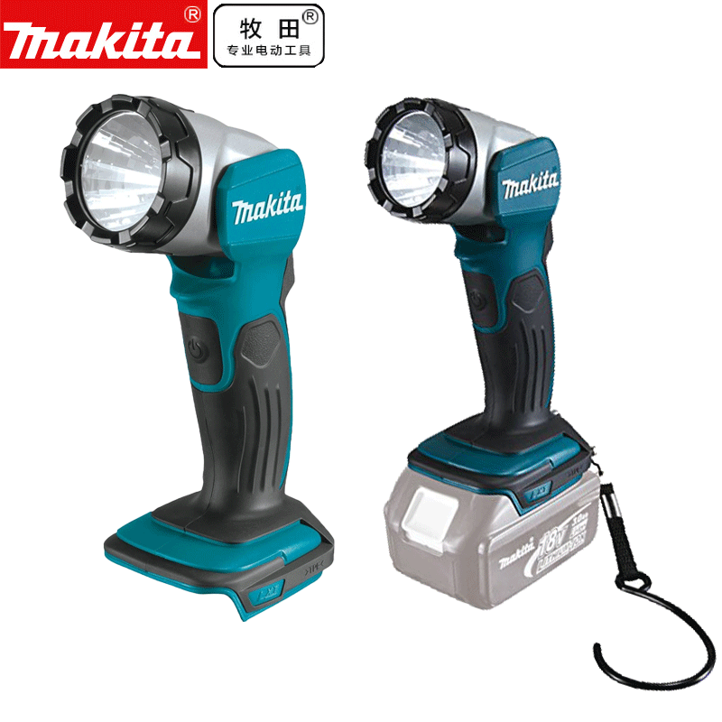 Makita DML802 14.4v/18v Li-ion Led Work Light Torch 12 Positions Body Only