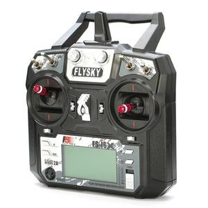 Image 3 - FLYSKY transmisor para Dron de carreras con visión en primera persona, FS i6X i6X 2,4G, 10 canales, AFHDS 2A, receptor X6B iA6B A8S V2