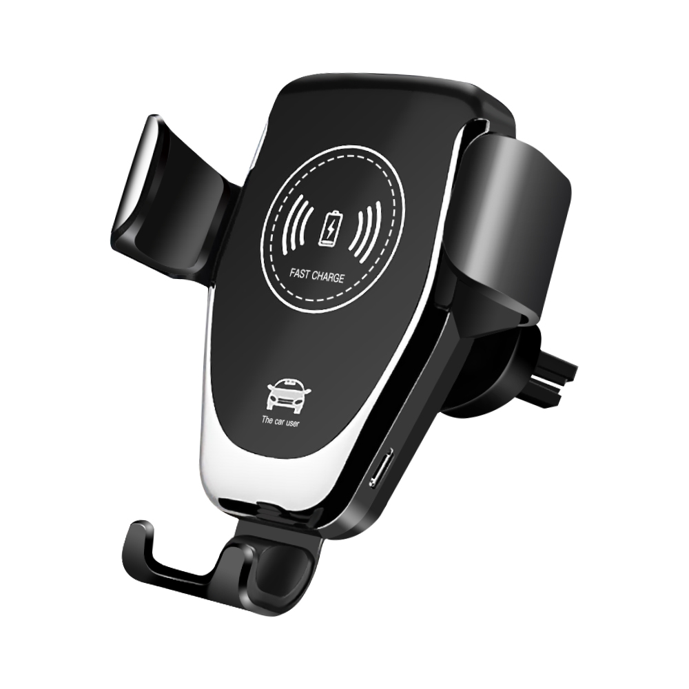 Meeker Gravity Car Holder Wireless Charging For Phone In Car Air Vent Clip Mount Mobile Phone Holder For IPhone 11 Pro Samsung