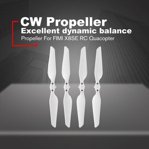2 Pairs for FIMI X8 SE Propellers Original RC Quadcopter Spare Parts Quick-release Foldable Propellers for Mi Fimi X8 Se