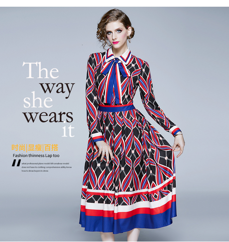 dress women vintage fall dress girl tendency clothing Vacation Autumn long sleeves dresses brazil boho dress boho sequin dress 5