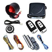 12V Car One-key Start PKE Keyless Entry System Universal Anti-theft Device Push
