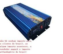 2500W Pure Sine Wave Power Inverter DC24V to AC220V 60HZ Digital Display new original adda ad17224mb5151m0 dc24v 1 65a 2 lines inverter coolling fan
