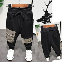 Spring Autumn New Kids Pants Baby Boys Casual Pants Kids Clothing Cotton Boys Long Trousers Baby Boys Clothing Pants