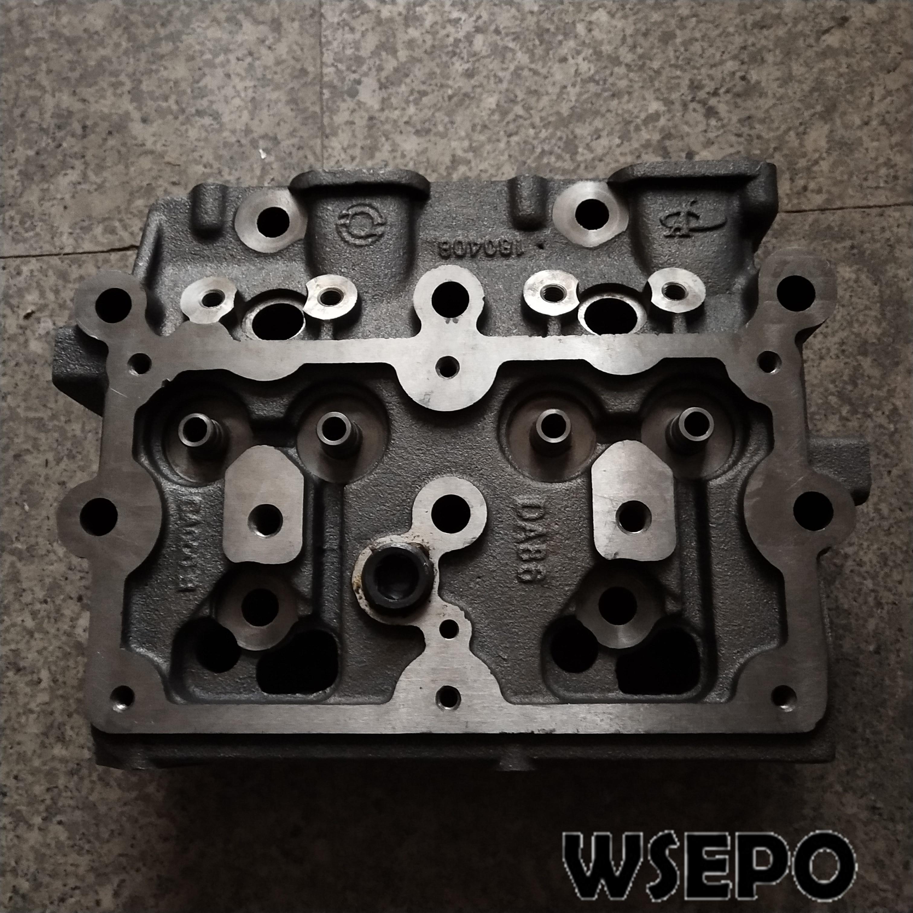 Cylinder Head+Intake&Exhaust Valves+Valve Springs fits for Yuchai YC2108 2 Cylinder 4 Stroke Diesel Engine
