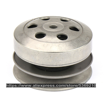 GY6 50 80cc 100 Clutch Pulley Assy Driven Wheel Assembly Belt Pulley Scooter Engine parts Bike Repair Mope CDL-GY6 50 gy6 coil 80cc engine coil magneto motor stator gy6 50cc8 pole ac gy6 generator