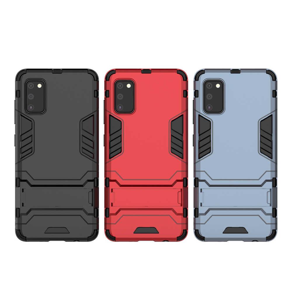 Para samsung galaxy a41 caso para samsung galaxy a31 a51 a71 a21 a11 a01 m21 m31 a10s a30s capa armadura dura capa do telefone do computador escudo
