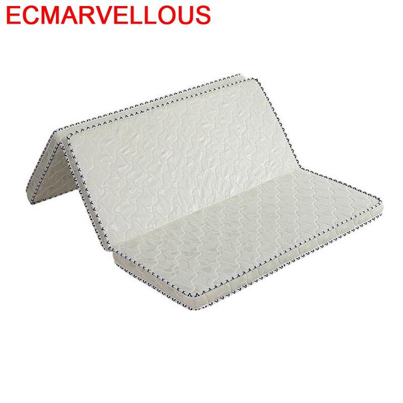 Bedroom Furniture Coprimaterasso Lit Bed Topper Matratze Materassi Kasur Materac Matelas Colchon Folding Mattress