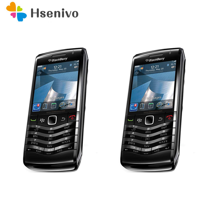 Original Unlocked BlackBerry Pearl 9105 Mobile Phone 3G GSM WiFi Bluetooth GPS Smartphone Quad band cellphone free shipping