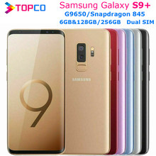 Samsung Galaxy S9 + G9650 S9 artı 128GB/256GB çift Sim orijinal cep telefonu Snapdragon 845 Octa çekirdekli 6.2