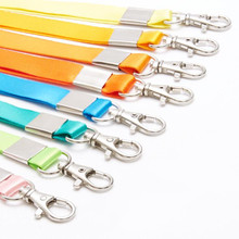 Candy-Color Lanyards Mobile-Phone Straps-Card Stationery for Keys Gym Hang-Rope Lariat