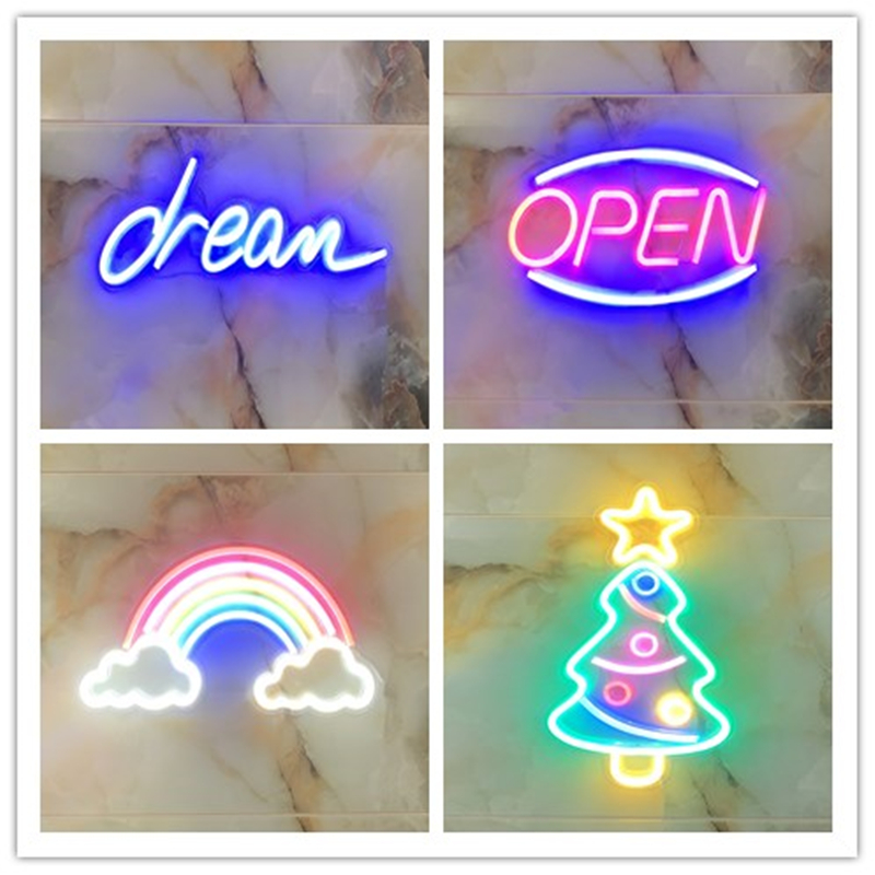 Full Type Neon Signs USB for Led Neon Pub Cool Light Wall Art Bedroom Bar Decorations Home Accessories Party Holiday Neon Pub image