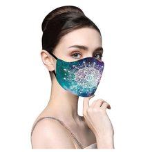 Adulte hommes et femmes imprimé extérieur Anti-poussière Double couche masque mascarillas de tela imperméable con filtro masque coton lavable