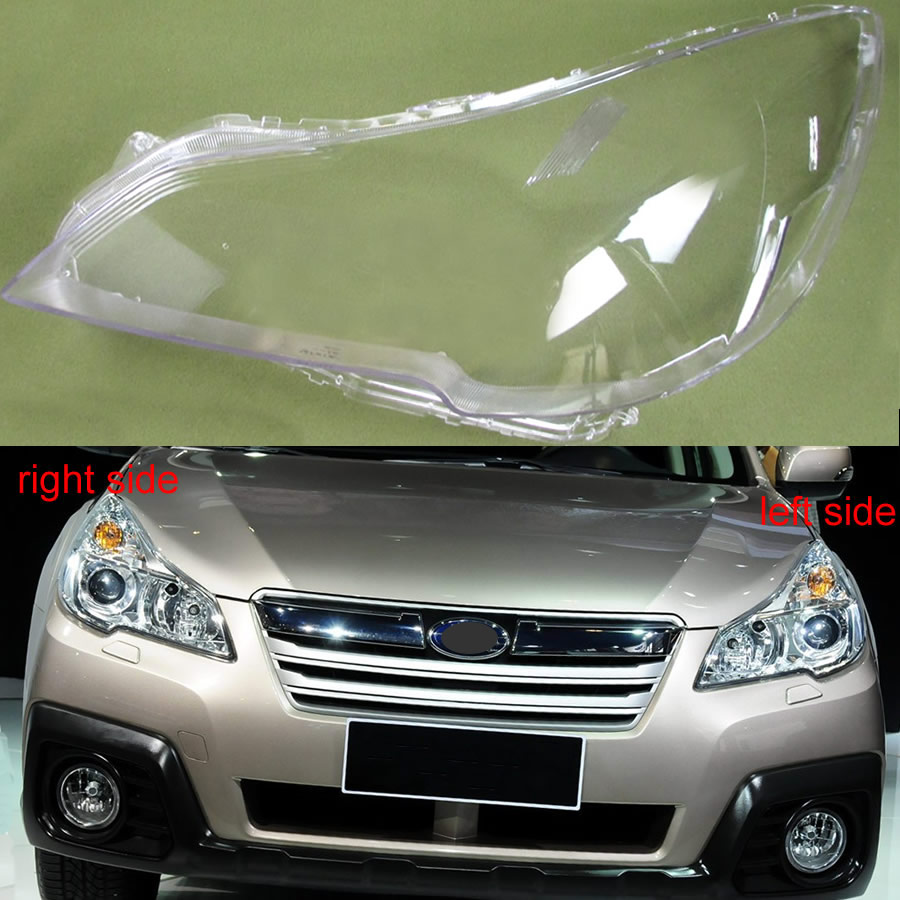 Чехол для Фары Subaru Outback Legacy 2010 2011 2012 2013 2014 2015, прозрачный абажур