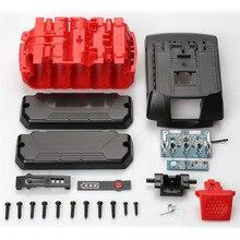 Li Ion Batterij Case Behuizing Cover Led Licht Label Vervanging Pcb Circuit Board Kit Voor Bosch 18V Li Ion Batterij Tool onderdelen