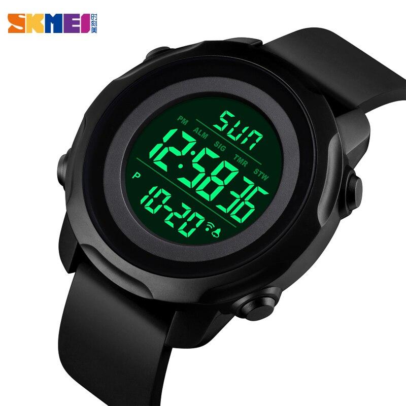 Brand SKMEI Sport Watch Men's Watches Luxury Military Digital Watches For Women Waterproof Chrono Wristwatch Men Women Bracelet