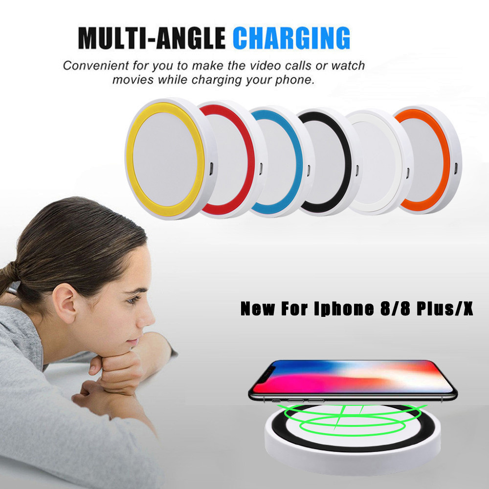 Charging-Pad Fast-Charger iPhone Wireless-Power Qi 8plus/x CE for Portable 100-200khz